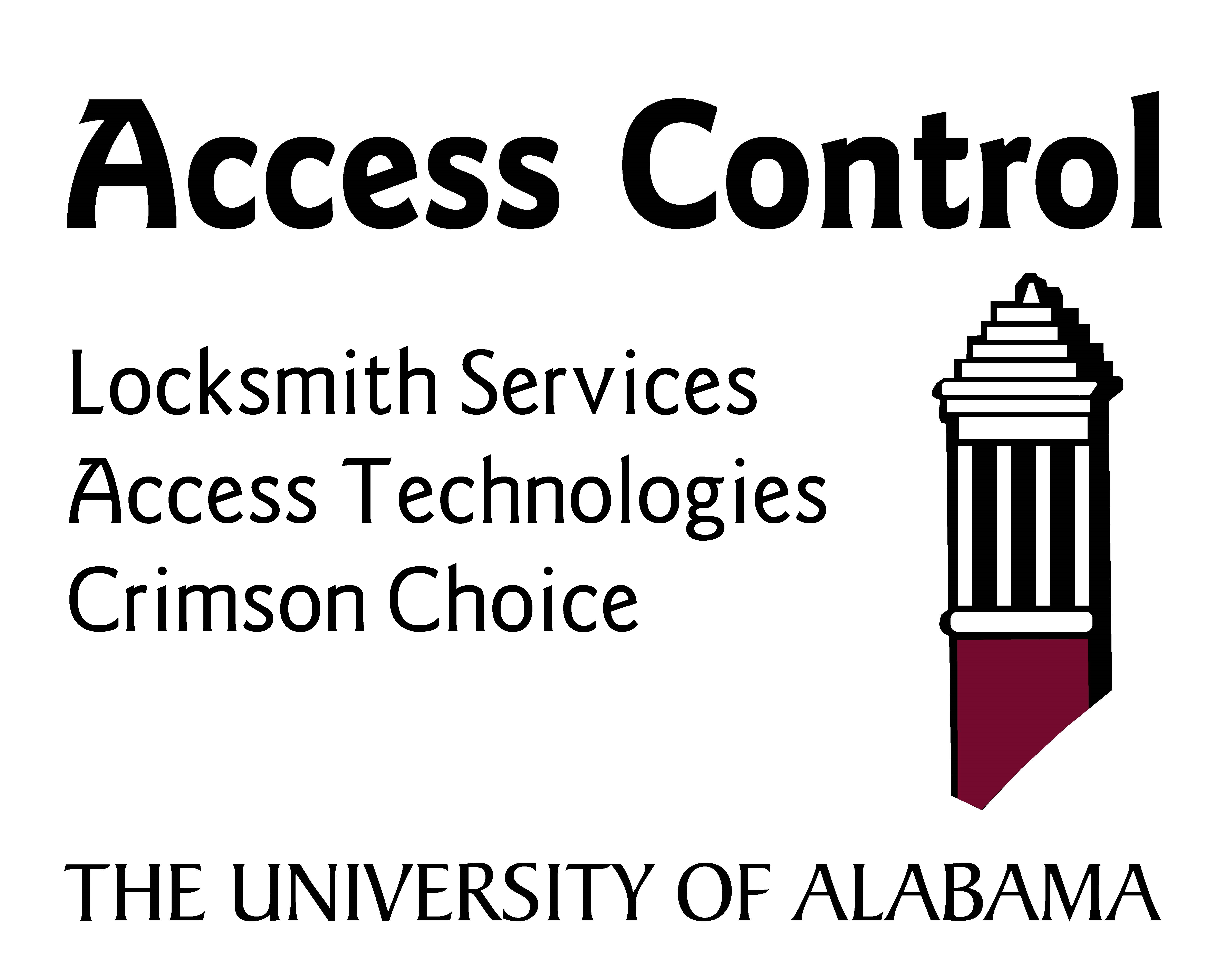 Access Control Sign